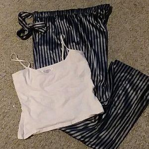 VS Pajama bottoms and cami